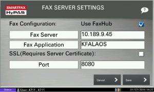 SmartFax Uygulaması